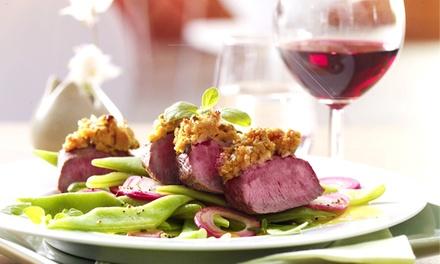 Gourmet-Lunch mit Dry Aged Beef, saisonalen Beilagen, Schorle und Kaffee im FILETSTÜCK Schönhauser Allee für 16 €