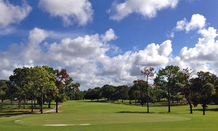 Oak Hills Golf Club - Spring Hill: Round of Golf with Cart Rental and Range Balls for Two or Four at Oak Hills Golf Club (Up to 62% Off)