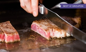 Shi Chi Japanese Steakhouse: Dinner for Two or Four at Shi Chi Japanese Steakhouse (Up to 43% Off)