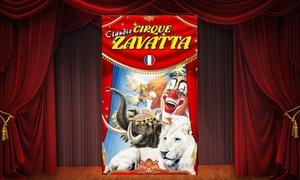 Cirque Claudio Zavatta: 1 place enfant ou adulte en gradin de face à 10 € pour le Cirque Claudio Zavatta à Poitiers et Bressuire