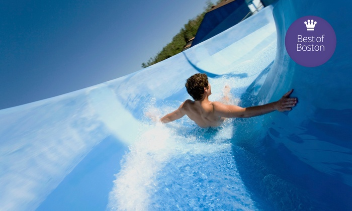 Liquid Planet Water Park - Candia: Water-Park Visit with a Zipline Ride and Mini Golf for Two or Four at Liquid Planet Water Park (Up to 69% Off)