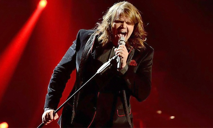 Caleb Johnson - Cone Denim Entertainment Center: Caleb Johnson at Cone Denim Entertainment Center on Saturday, May 16, at 9 p.m. (Up to 51% Off)