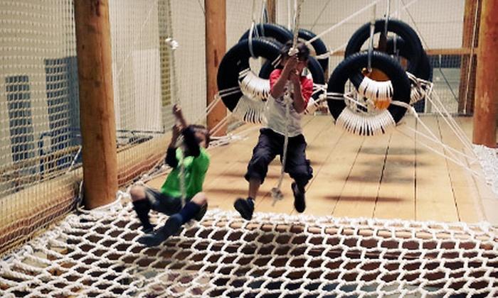 Wonderwilder - Lazy Brook - Timbergrove: 5 or 10 Open-Play, Indoor-Playground Passes at Wonderwilder (Up to 51% Off)