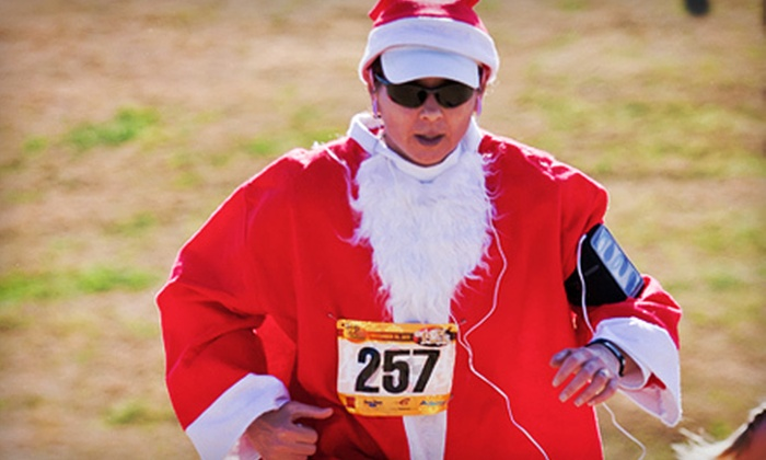 12k's of Christmas - Freestone Park: $39 for Registration in Team Santa Paws for 12k's of Christmas Holiday Race ($60 Value)