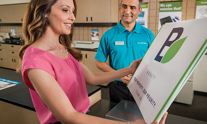 The UPS Store - South Middleton: $50 for $100 Worth of Printing Services at The UPS Store