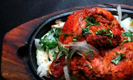Menú indio para 2 o 4 con entrante, principal, postre y bebida desde 19,90 €