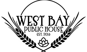 West Bay Public House: Up to 50% Off Beer, Wine, and Cidre at West Bay Public House