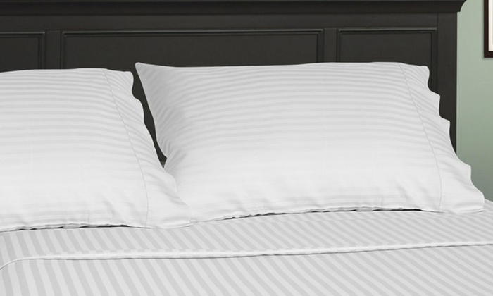 100% Egyptian Cotton Royal Sateen 4-Piece Sheet Sets: 100% Egyptian Cotton Royal Sateen 4-Piece Sheet Sets from $59.99–$69.99. Multiple Colors Available. Free Returns.