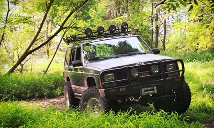 Rausch Creek Off Road Park - Tremont: Four-Hour Guided Off-Road Tour with Option for 4x4 Rental at Rausch Creek Off Road Park (Up to 75% Off)