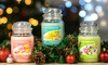 Groupon Goods Global GmbH: 1,2 ou 4 grandes bougies en pot Yankee Candle 538g