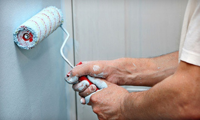 ATM Painting - Cleveland: Painting for One Room, an Exterior Front Door, or a Two-Car-Garage Door from ATM Painting (Up to 66% Off)