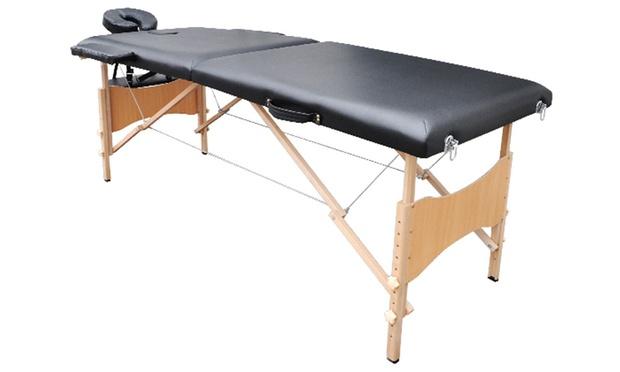 Table De Massage En Bois Ou Alu  Groupon-2986
