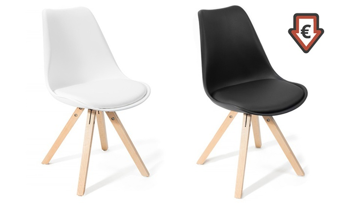 4 Chaises Scandinaves FjoneGroupon 2 Lot De Shopping Ou 0OvN8mnw