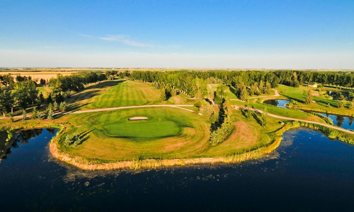 Carstairs Golf Club - Carstairs: 18 Holes of Golf for Two or Four with Cart Rental, Range Balls, and Drinks at Carstairs Golf Club (Up to 60% Off)