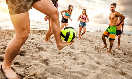 $25 for $50 Worth of Beach Soccer — GoFlingo Sport & Social