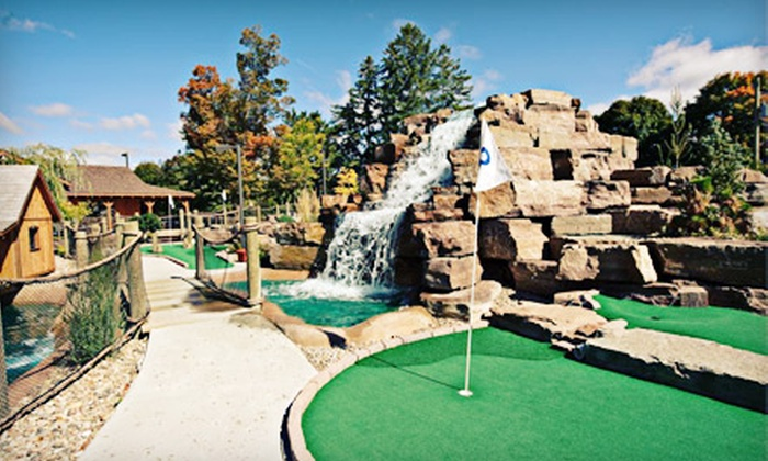 Dunnderosa Golf Club - Chelsea: Mini Golf for Two Adults and Two Kids, or 18-Hole Golf for Two or Four with Cart at Dunnderosa Golf Club (Up to 53% Off)