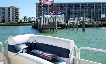$130 for 2-Hour Dolphin Tour or Pontoon-Boat Rental for Up to 11 at Tampa Bay Boat Rental ($300 Value)