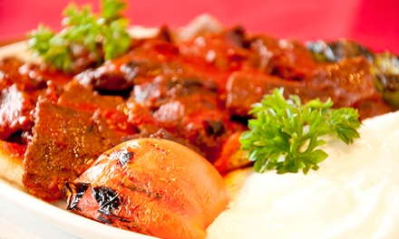 $69 for a Four-Course Turkish Meal with Wine for Two at Topkapi Turkish Restaurant ($135.80 Value)