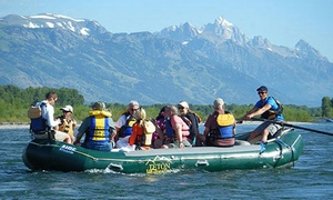 Four-hour Scenic Jackson Hole Rafting Trip For One Or Four From Teton Whitewater (up To 58% Off)
