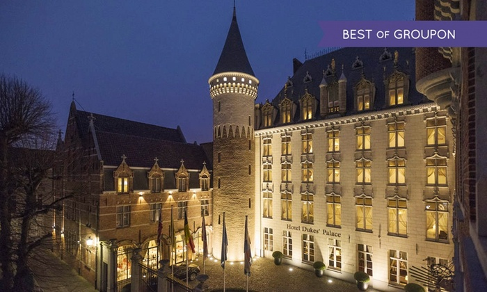 Bruges  1 à 3 nuits avec petitdjeuner et accès à lespace bienêtre à lhôtel Dukes Palace 5* pour 2 personnes