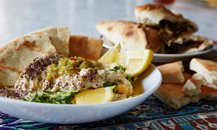 Al- Amir Lebanese Restaurant - Arlington - Arlington: Lebanese Cuisine for Dinner for Two or Four at Al-Amir Lebanese Restaurant - Arlington (Up to 42% Off)