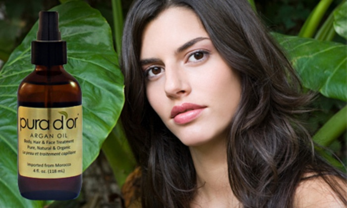 Pura D'or Organic Moroccan Argan Oil: $19 for Pura D'or Pure and Organic Moroccan Argan Oil ($48 List Price). Free Shipping.