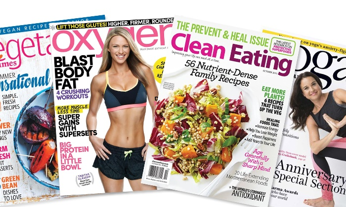 "Blue Dolphin Magazines: ""One-Year Subscription to Health and Fitness Magazines (Up to 52% Off)"