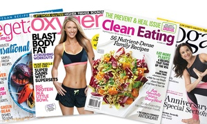 """Blue Dolphin Magazines: """"One-Year Subscription to Health and Fitness Magazines (Up to 60% Off)"""