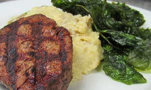 Skylines Cafe: American Cuisine for Dinner or Takeout at Skylines Cafe (Up to 47% Off). Three Options Available.