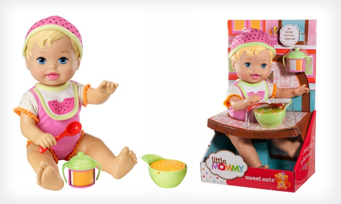 Little Mommy Everyday Moments Doll: $8.99 for a Mattel Little Mommy Everyday Moments Doll (Up to $14.99 List Price)