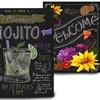 Chalkboard Art Prints by Fiona Stokes Gilbert