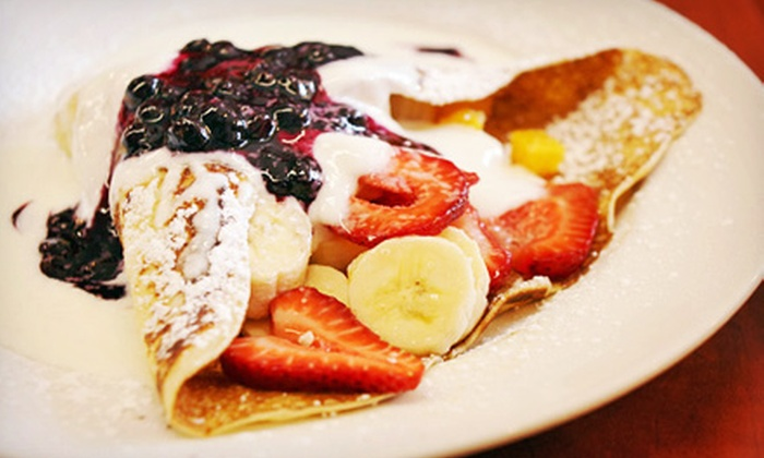 Aloha Crepes - Kaimuki: $17 for a Five-Punch Card for Crepes and Snowflake Desserts at Aloha Crepes ($35 Value)