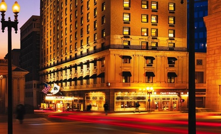Stay at Omni Parker House in Boston, MA. Dates Available into March.