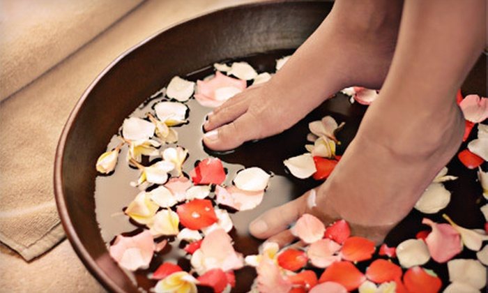 Skin Deep Day Spa - Riverton: One or Two Spa Manicures or One or Two Spa Pedicures at Skin Deep Day Spa in Cumberland (Up to 55% Off)