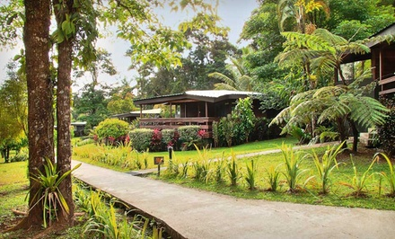 3-, 4-, or 5-Night Stay for Two with Breakfast and Rainforest Tour at Chachagua Rainforest Ecolodge in Costa Rica