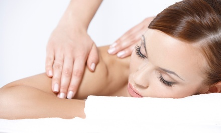 Body Wrap and Massage from Nancy J Heimlich at 12 Meridians Acupuncture (Up to 55% Off). Three Options Available.