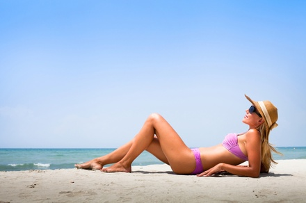 Three Custom Airbrush Tanning Sessions at Shades Spray Tans (65% Off)