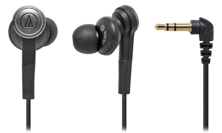 Audio-Technica Solid Bass Noise-Isolating In-Ear Headphones