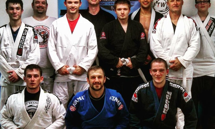 Fight to Win Brazilian Jiu Jitsu of Asheville, NC - Fletcher: $40 for $95 Worth of Martial-Arts Lessons — Fight to Win Brazilian Jiu Jitsu
