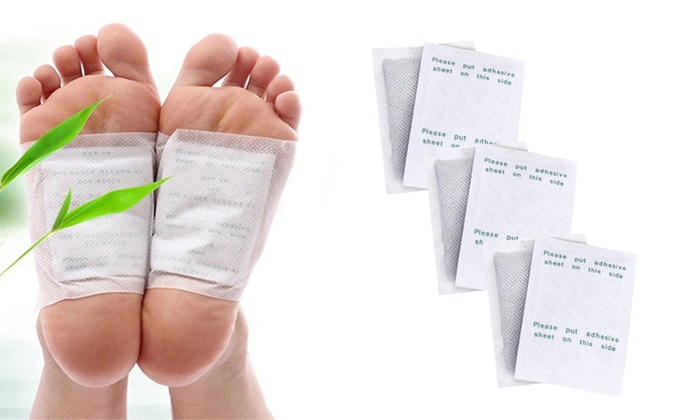 Detox Cleansing Foot Pads 10 Count Groupon