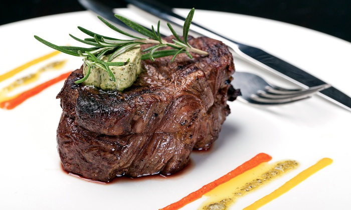 Forrester's on the river - The Docks - Downtown Toledo: Steak-House Cuisine for Lunch or Dinner at Forrester's on the River (Up to 40% Off)