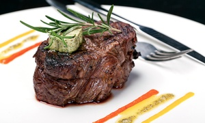 Steak Street: Steakhouse Cuisine at Steak Street (Up to 42% Off). Five Options Available.