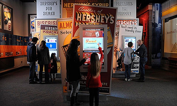 The Hershey Story, The Museum on Chocolate Avenue - Hershey: Visit with Chocolate Tasting for Two or Four at The Hershey Story, The Museum on Chocolate Avenue (Up to 52% Off)