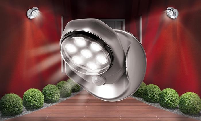 led lampe mit bewegungsmelder groupon. Black Bedroom Furniture Sets. Home Design Ideas