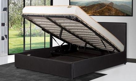 lit coffre prima groupon shopping. Black Bedroom Furniture Sets. Home Design Ideas
