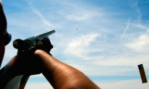 Linc Raahauge's: Clay-Shooting Package for Two or Four at Linc Raahauge's (Up to 63% Off)