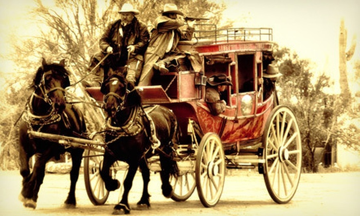 Macdonald Ranch - Scottsdale: Authentic Stagecoach Ride for Two or Four at Macdonald Ranch (Up to 53% Off)