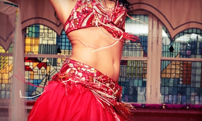 The Dancing Spirit Studio - Tiverton: 10 Belly-Dance Art Classes or 15 Belly-Dance Fitness Classes at The Dancing Spirit Studio in Tiverton (Up to 76% Off)