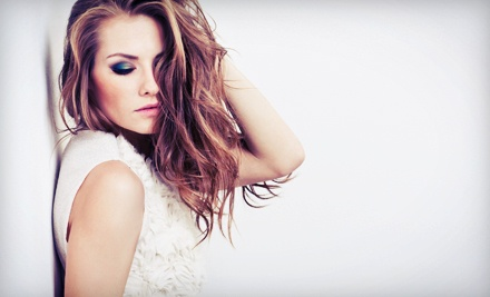Haircut and Style with Optional Partial or Full Highlights at Bang! The Salon (Up to 67% Off)