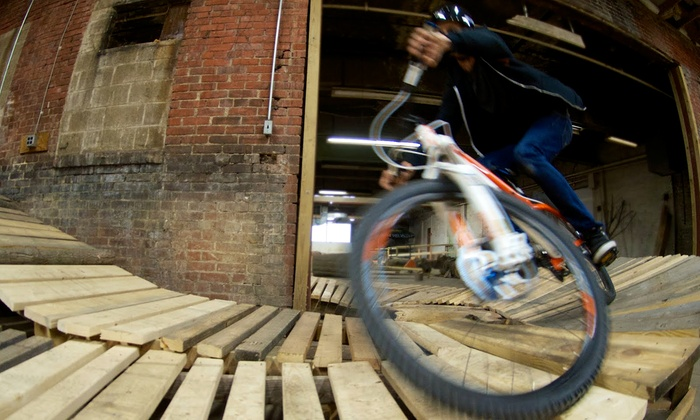 The Wheel Mill - Homewood West: All-Day Admission and Bike Rental for One or Two or Week-Long Bike-Trick Camp at The Wheel Mill (Up to 51% Off)